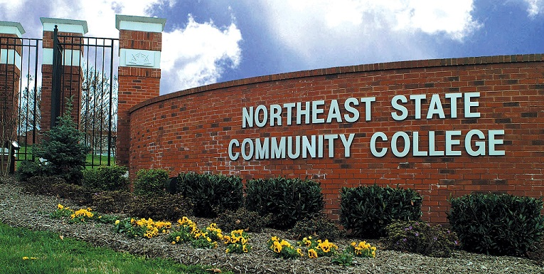 Northeast State Sign